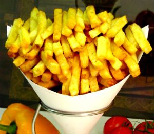 Cone of Fries Belgian Fries