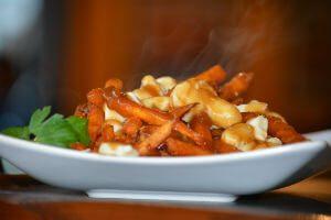 yam poutine belgian fries